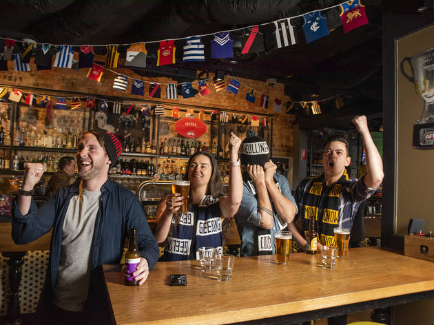 Two Melbourne CBD pubs have launched bottomless AFL feasts