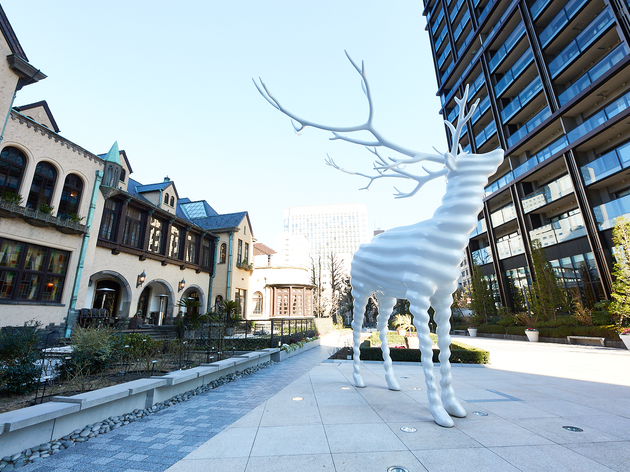 Kohei Nawa 'White Deer'
