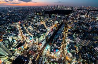 Tokyo Skyline – seen from Shibuya