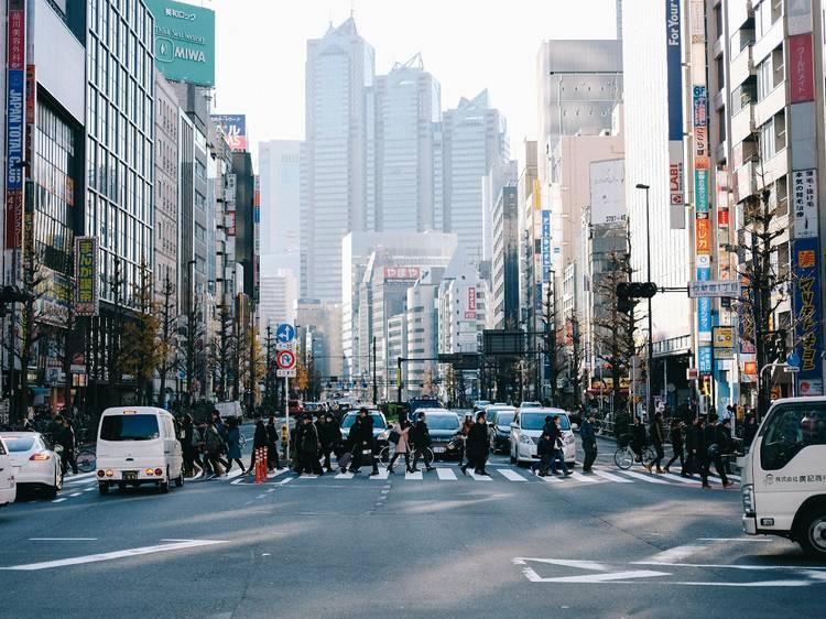 Visualising the Birth of Modern Tokyo