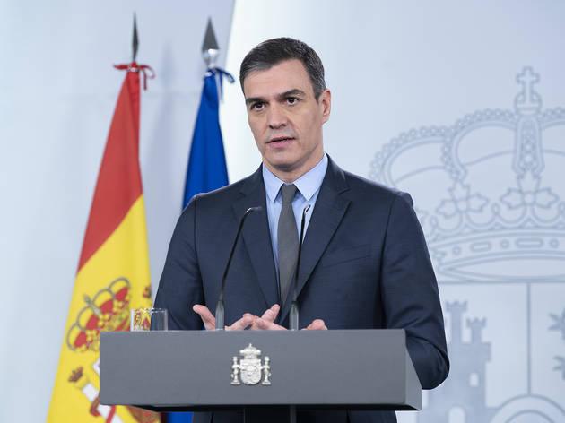 Pedro Sánchez declara el estado de alarma