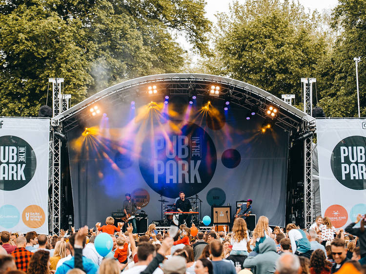 Go to Pub in the Park… twice