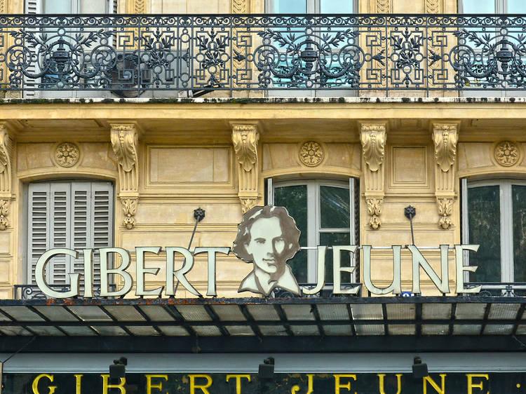 Gibert Jeune in Paris