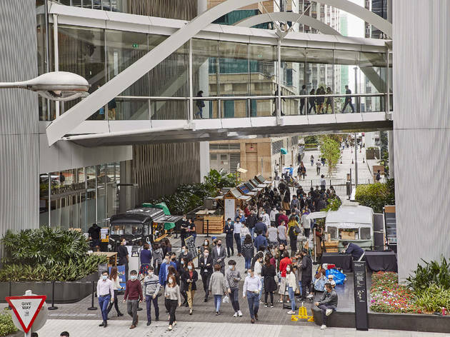 Taikoo Place Tong Chong Street Market Tea Festival 2021