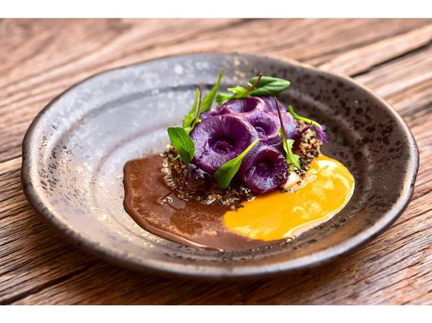 Restaurante, Cozinha de Autor, Salada de Polvo Grelhado, Fortaleza do Guincho