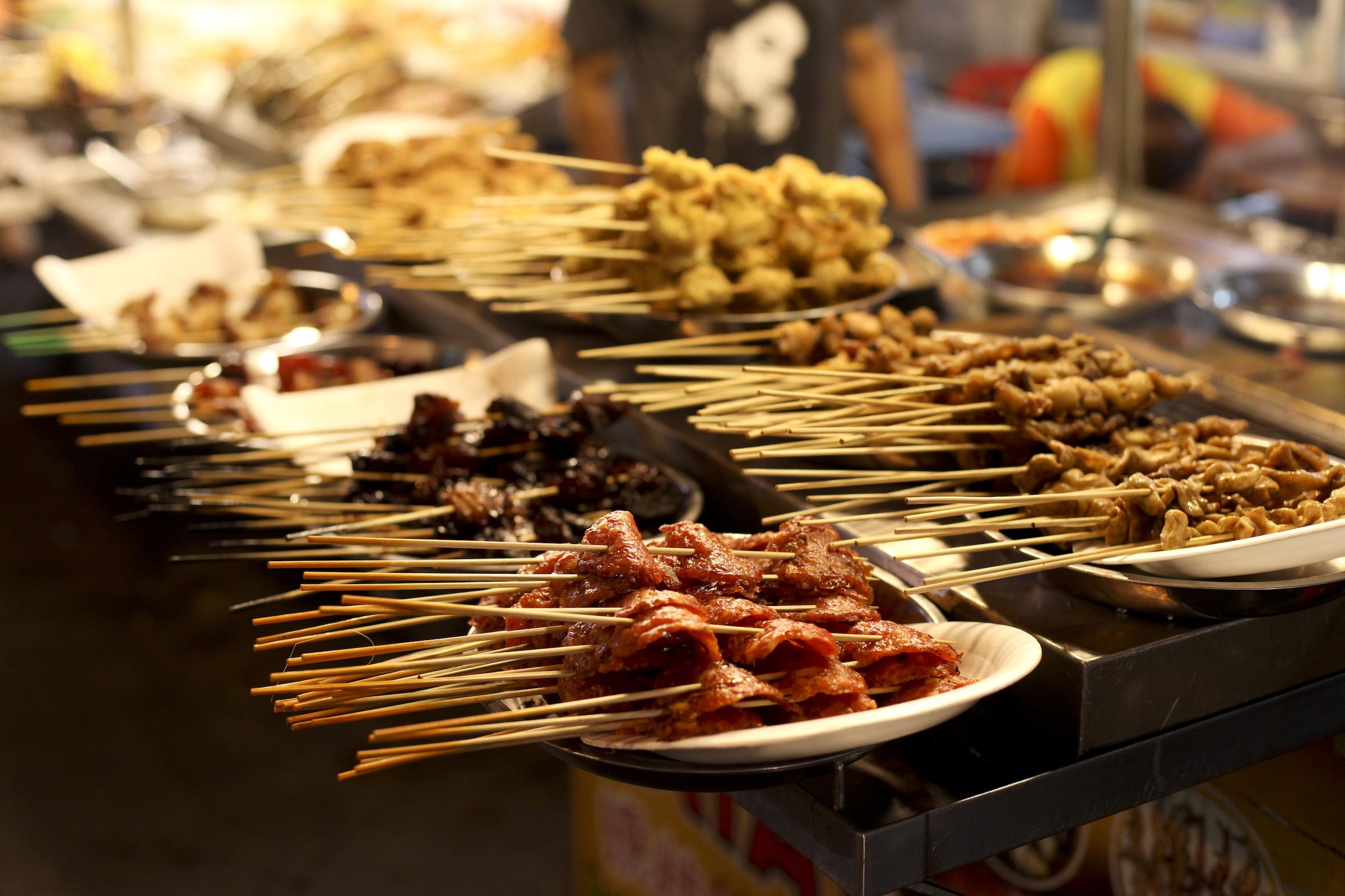 Street food in Kuala-Lumpur