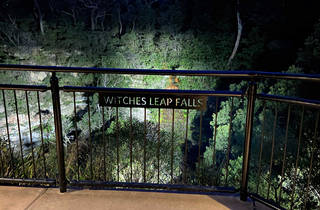 Witches Leap at night