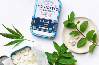 Mr. Moxey's CBD-infused mints