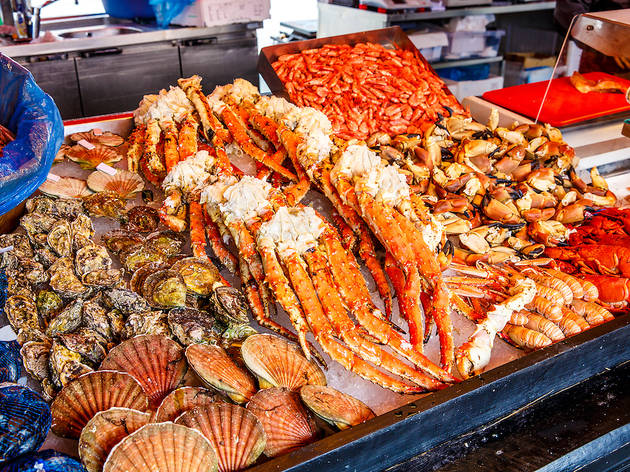Seafood in Seattle