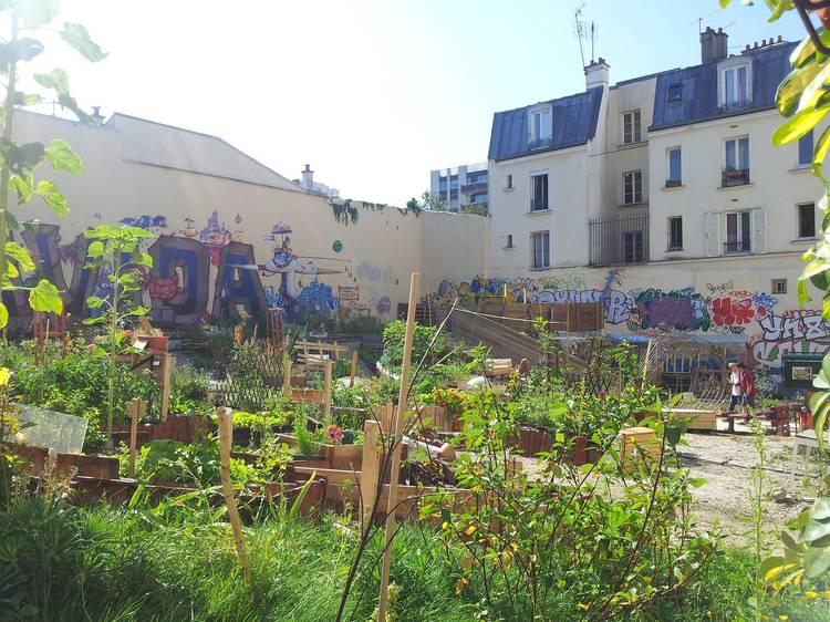 Le Jardin Cité Aubry (20e)