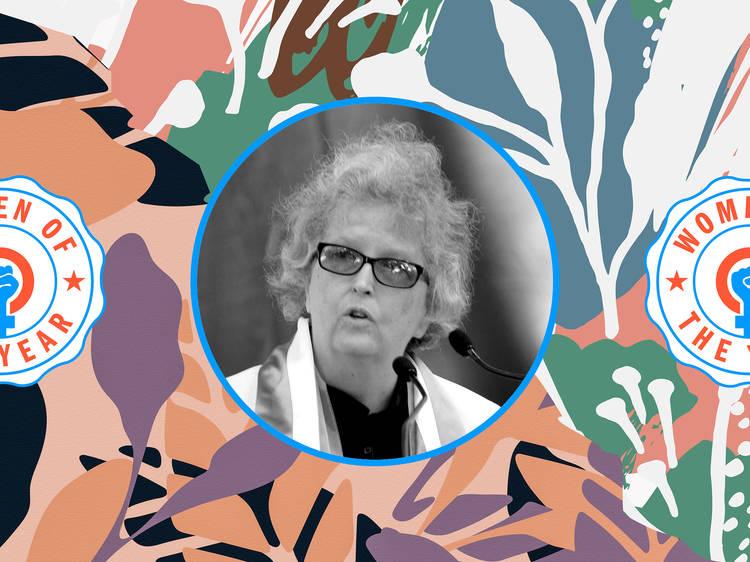 Pam Elam, President of Monumental Women
