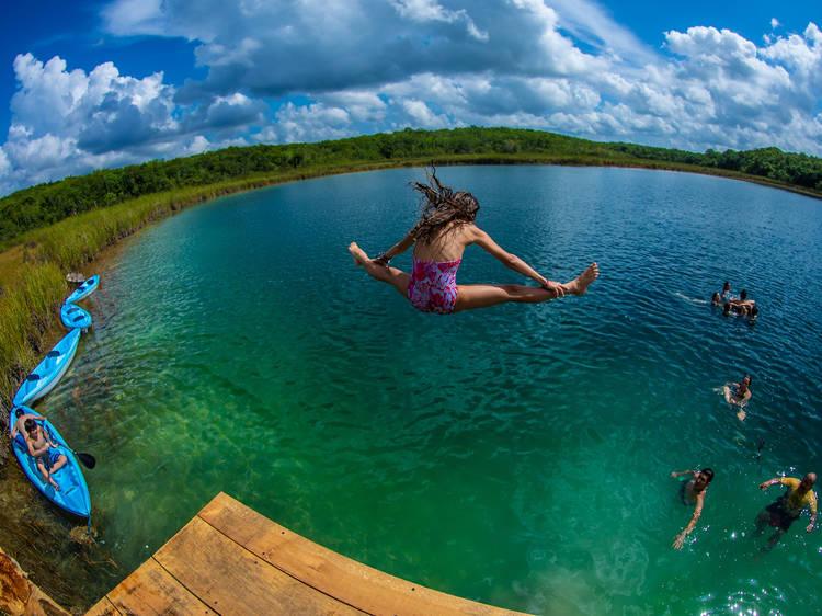 Vete de campamento a la Riviera Maya
