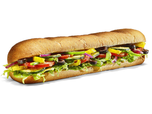 Subway Veggie Delite