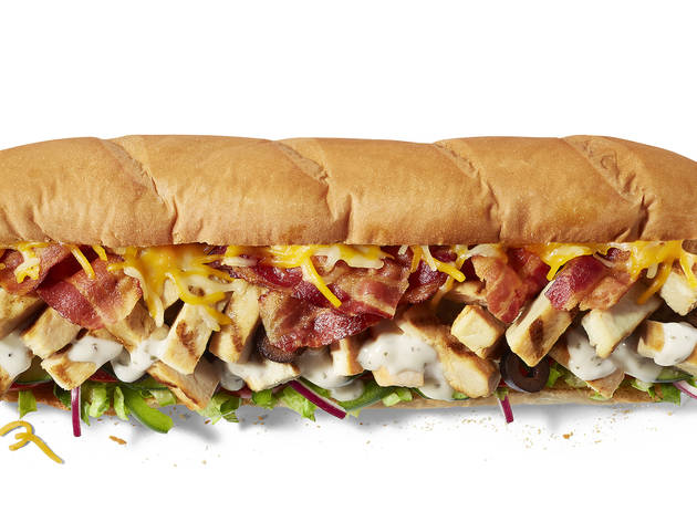 Subway Chicken Bacon and Ranch