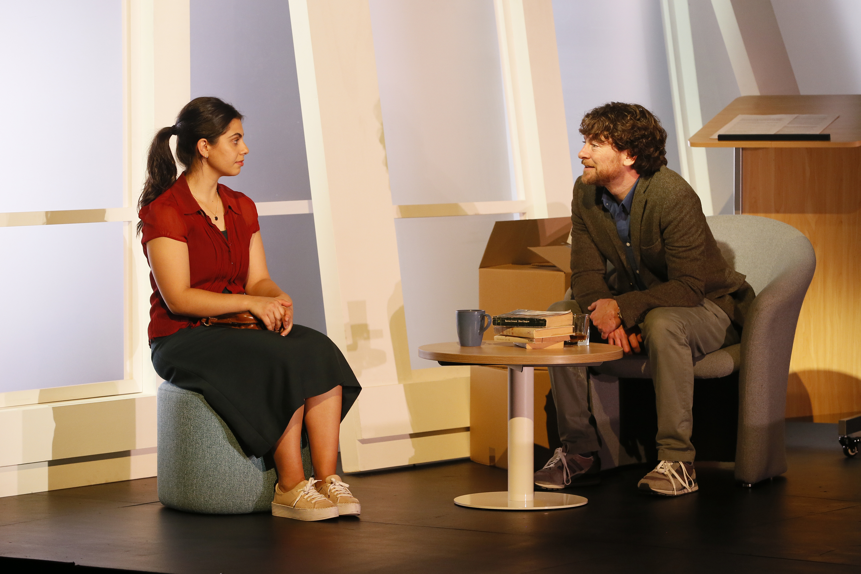 Dan Spielman and Izabella Yena in Sexual Misconduct of the Middle Classes