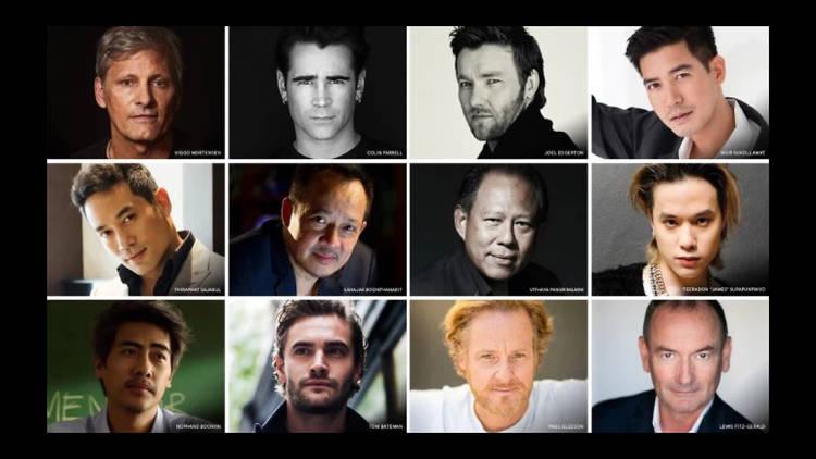 The cast of Thirteen Lives