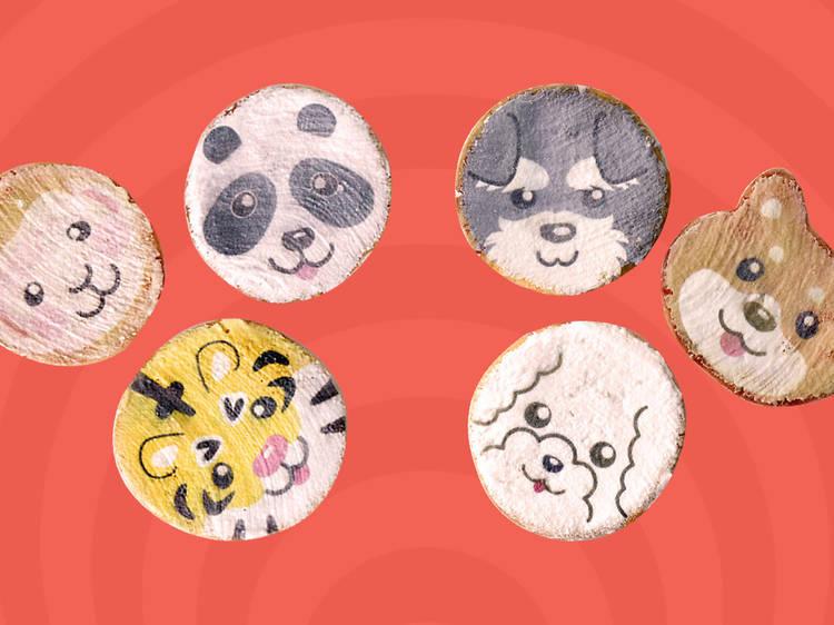 Animal rice crackers