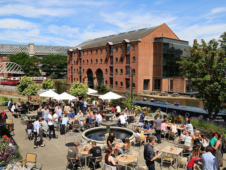 16 great outdoor bars and pubs in Manchester