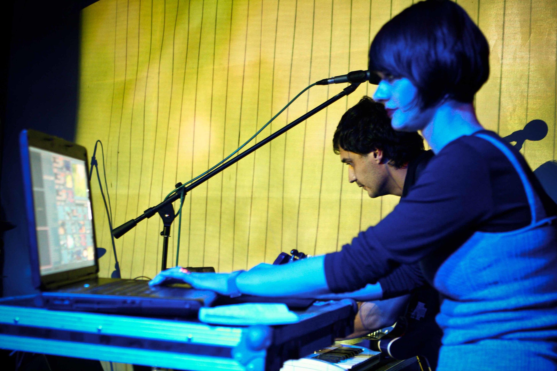 Musicians in Bucharest club