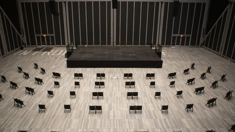 """McCourt Seating Setup for """"An Audience With"""""""