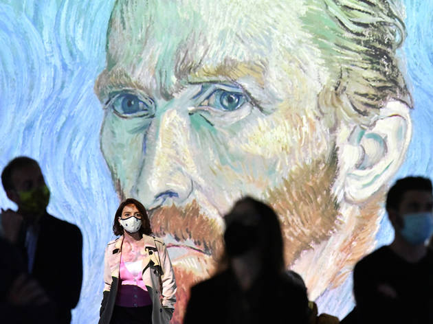 Van Gogh Alive - The Birmingham Hippodrome. 7 October 2020.