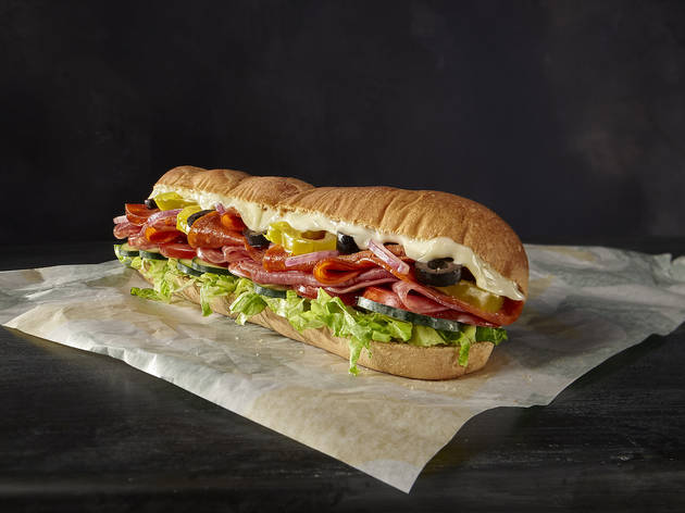 Subway Spicy Italian