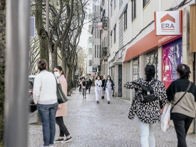 desconfinamento em Lisboa