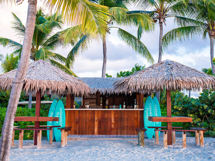 There's a dedicated Margarita Hotline at this dreamy Caribbean resort
