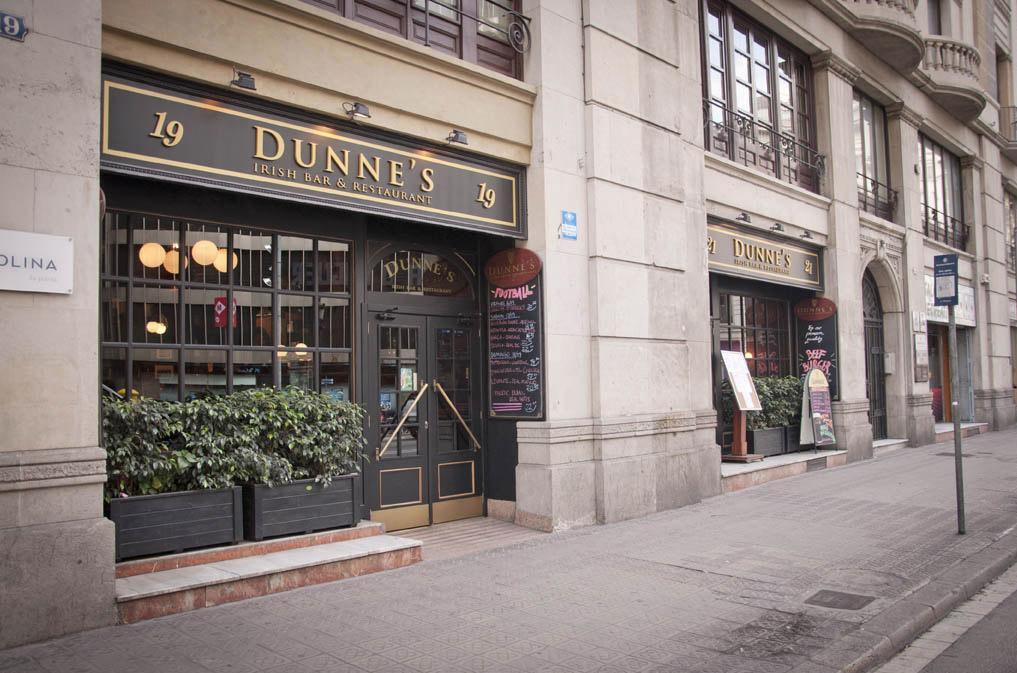 Dunne's irish bar and restaurant Barcelona