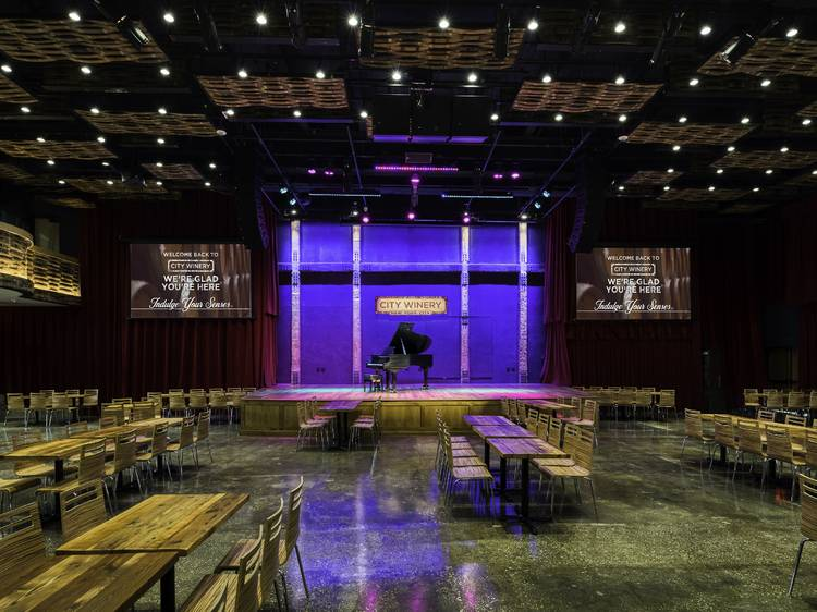 Take in a show at the new City Winery