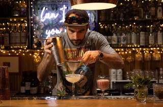 La Farmacia bartender (Photograph: Daniel Boud)