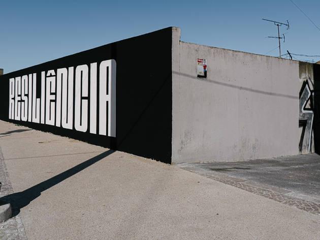 Mural Resiliência