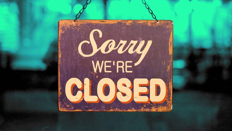 Closed restaurants in London