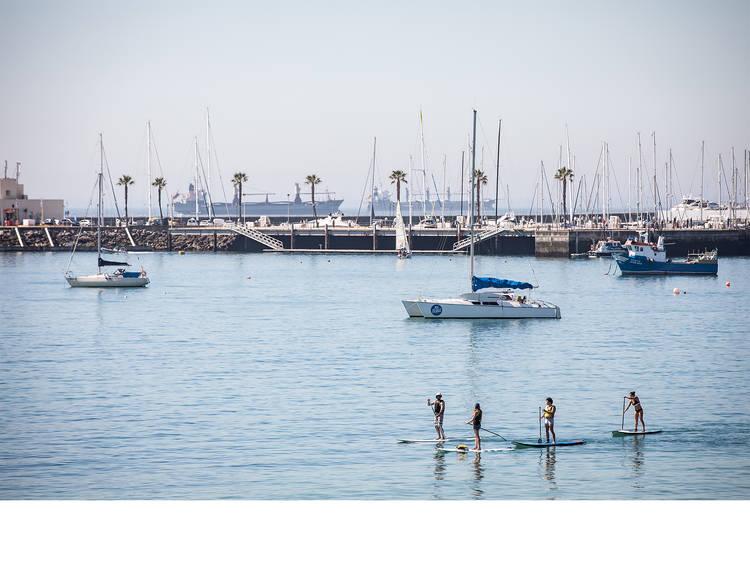 Sup-paddle board Ocean Activities