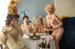 Duane Park burlesque brunch