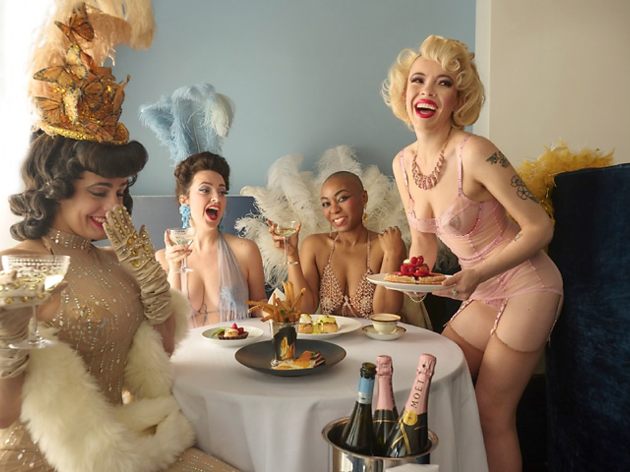 Duane Park burlesque brunch
