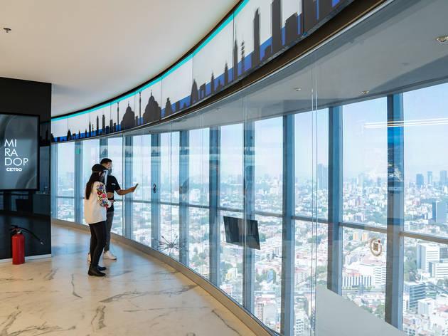 Cetro mirador inteligente en el WTC
