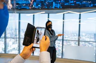 Cetro mirador en el WTC