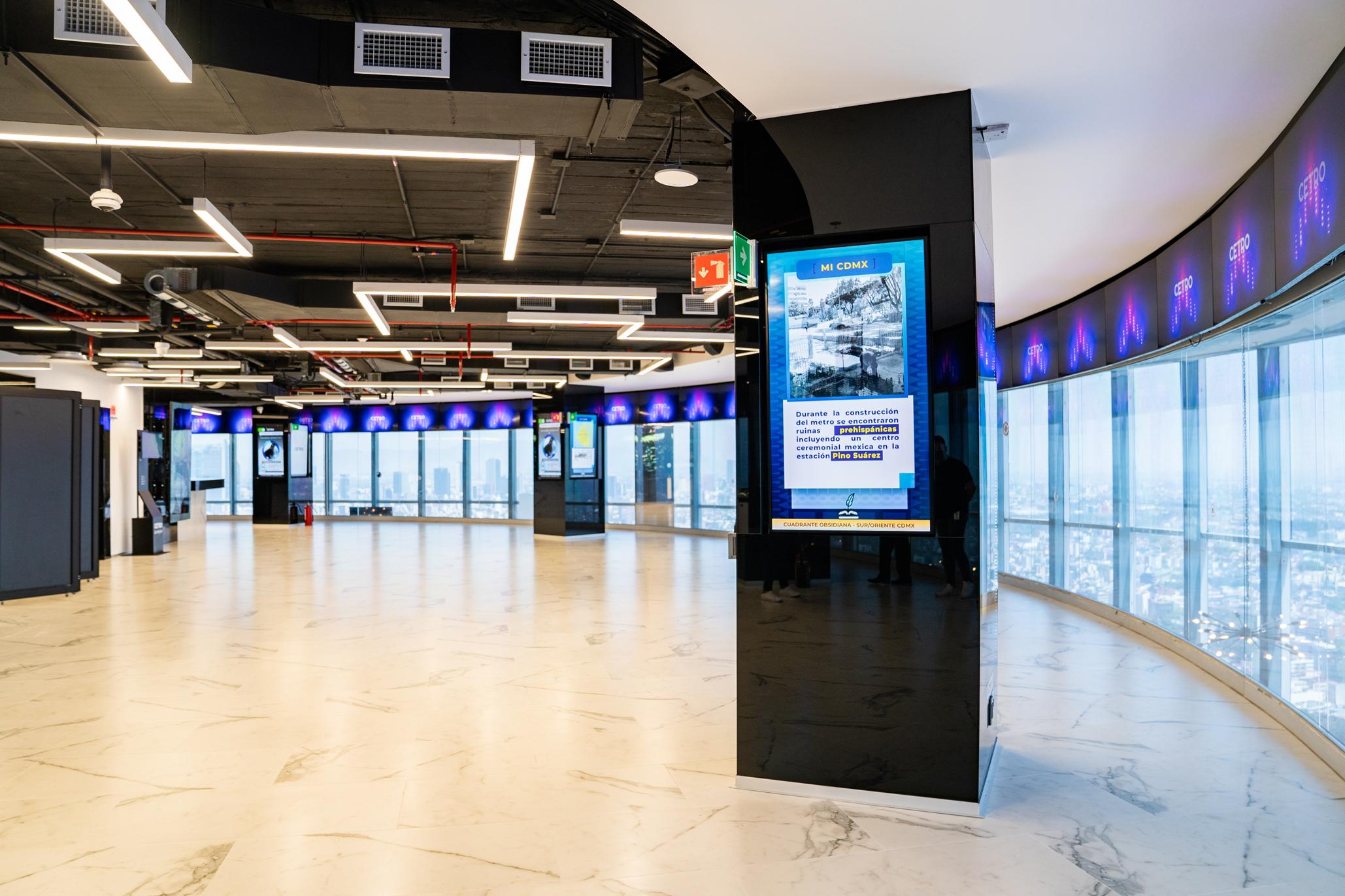 Interior mirador del WTC