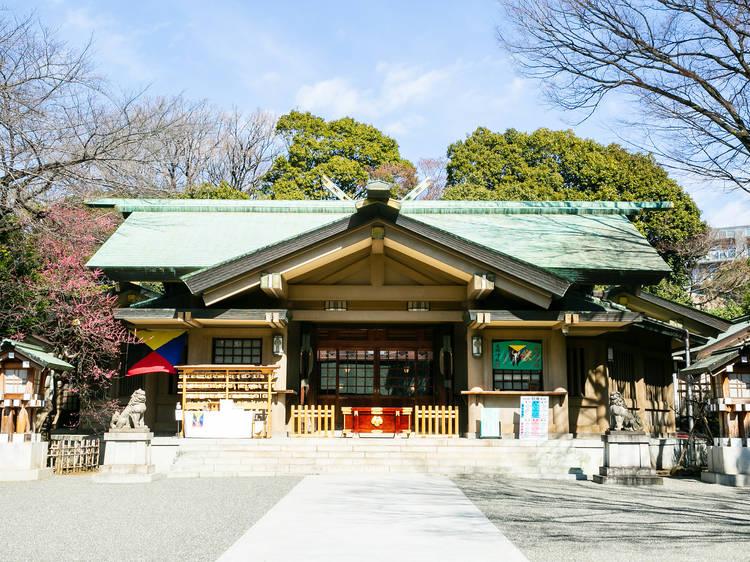Take a stroll through a serene shrine