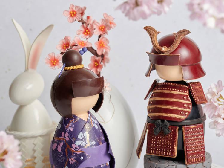 高美食店:日本武士、藝伎朱古力