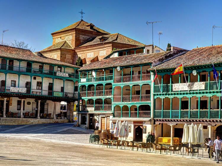Chinchón y la cuarta maravilla de Madrid