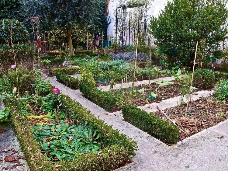 Le Jardin partagé du Clos des Blancs-Manteaux (4e)