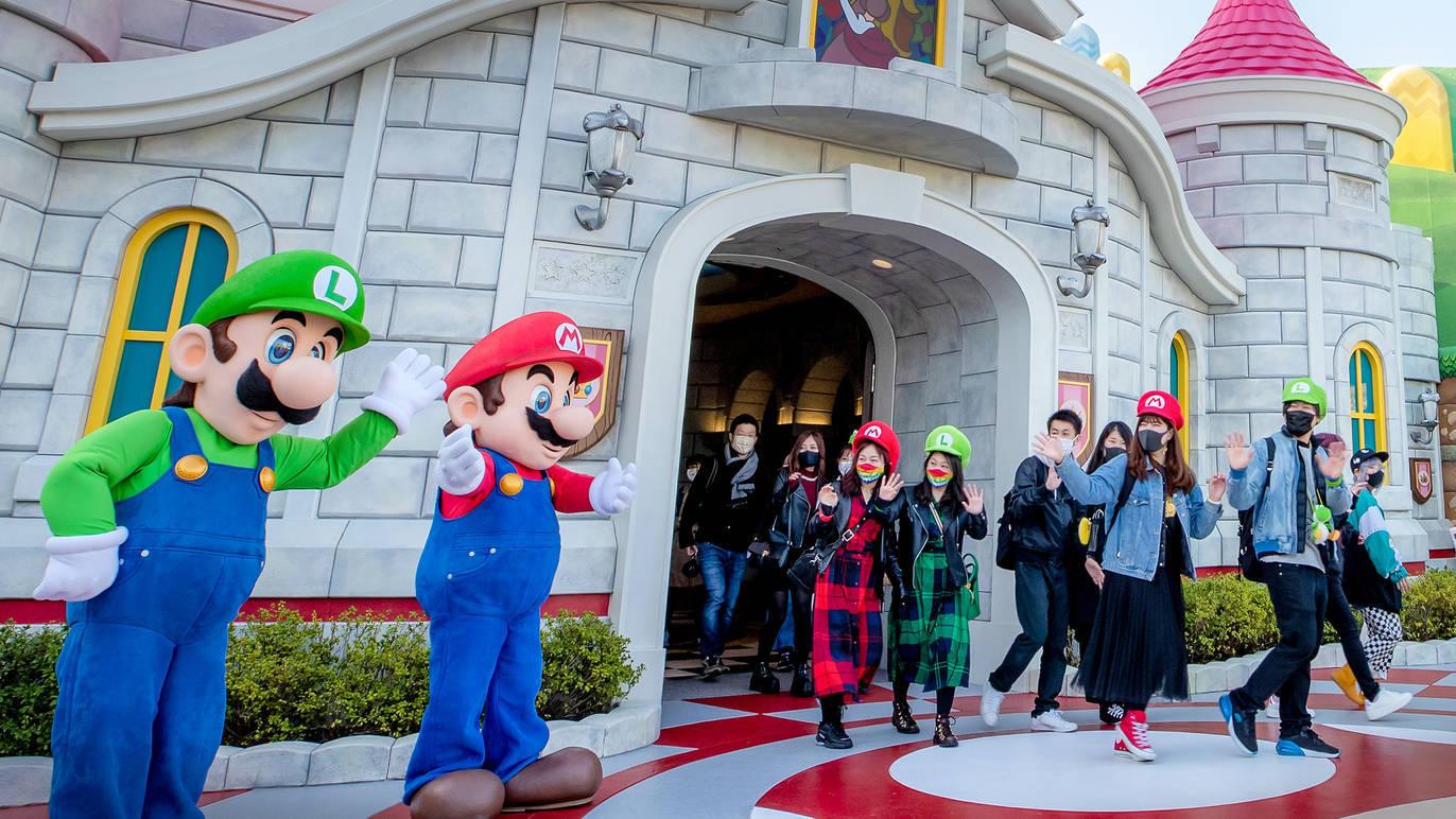 大阪環球影城 「超級任天堂世界」正式開幕