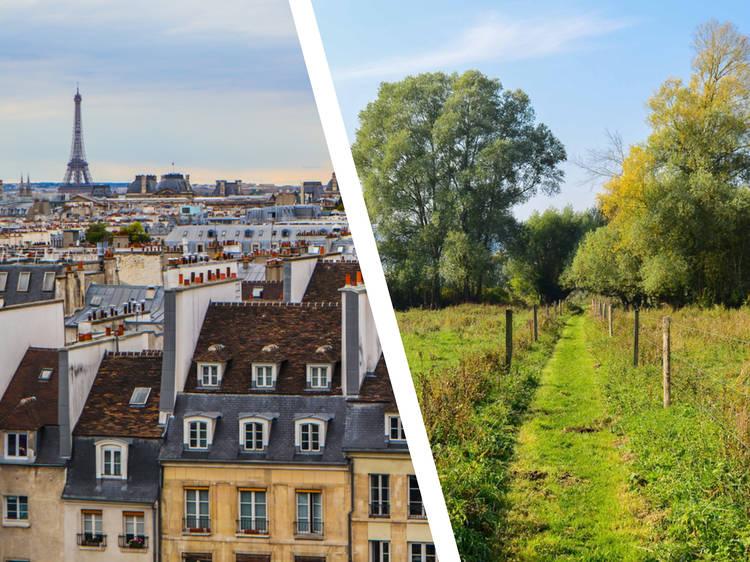 Paris... and Boucles de la Seine Normande