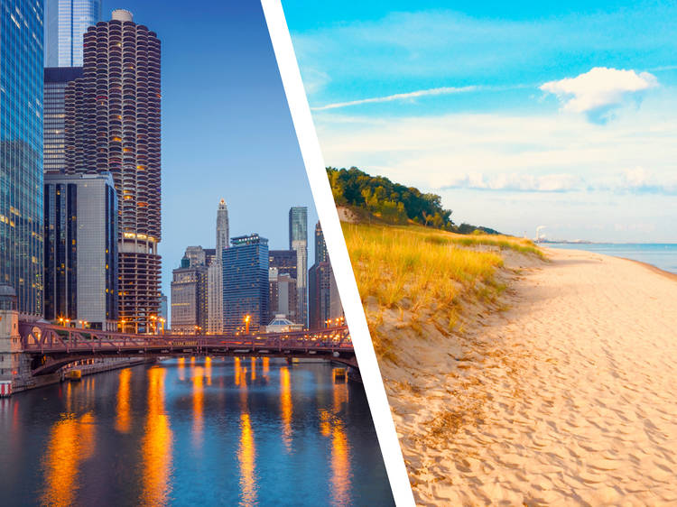 Chicago... and Indiana Dunes
