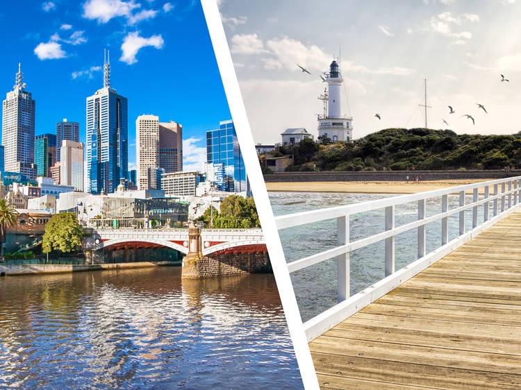 Melbourne... and Bellarine Peninsula