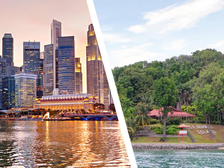 Singapore... and St John's Island