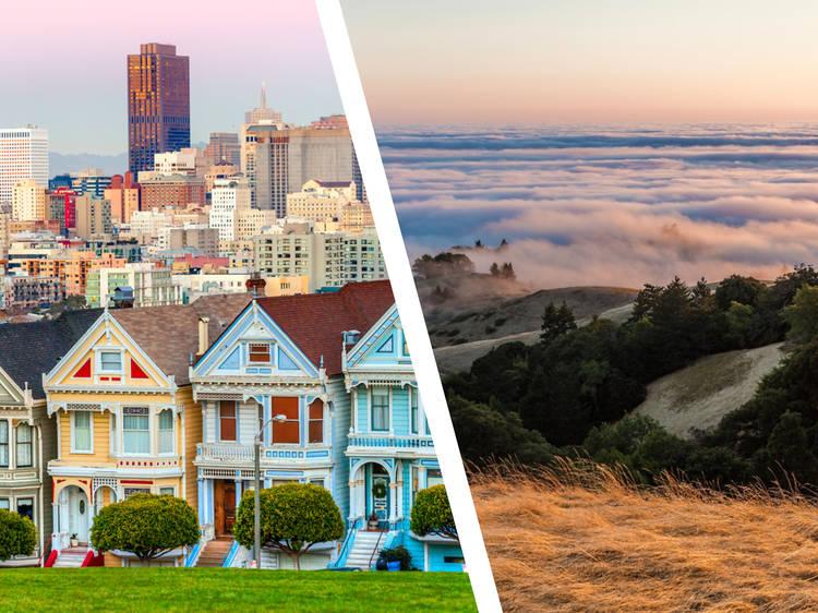 San Francisco... and Mount Tamalpais