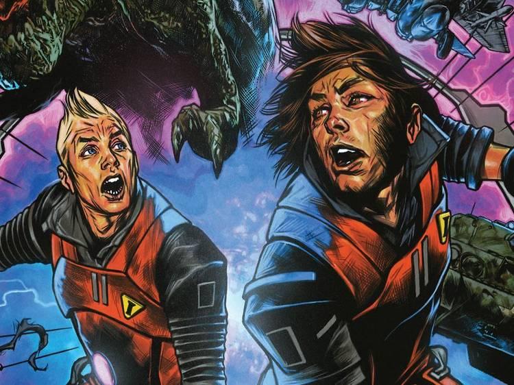 Chrononauts, un cómic de viajeros en el tiempo